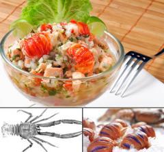 Crustaceos Langostino