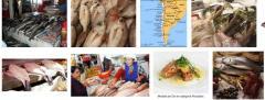 Venta de pescados chilenos