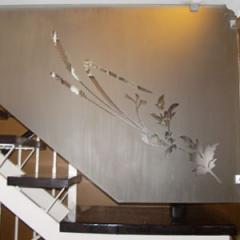 Vidrio Templado / Escalera