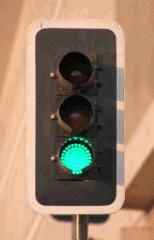 Lámparas de semáforo (cabezales) con óptica