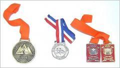 Medallas conmemorativas.