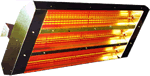Electrical Infrared Mountable Heaters
