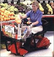 Carro de compras eléctrico Mart Cart XTi 12