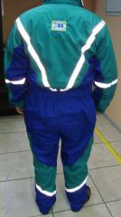 Overol industrial bicolor