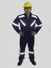 Trabajador por carretera uniforme