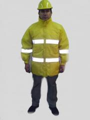 Protective clothing, oil-resistant,