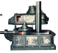 Reduction motor angular