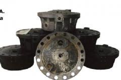 Working brake cylinders
