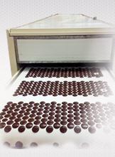 Dosificadora de Chips o gotas de chocolate