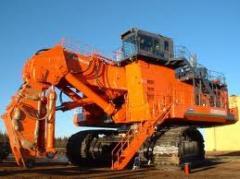 Equipos mineros: Perforación; Carguío de