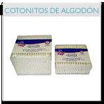 Cotonitos de algodón