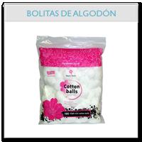 Bolitas de algodón
