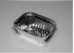 Envase de aluminio rectangular