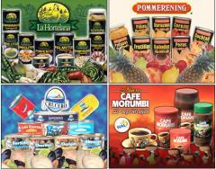 Cajones para productos alimenticios