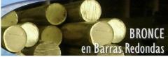 Barrotes de Bronce