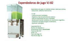 Expendedora de jugo VJ-82