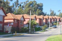 Casas de condominio residenciales.