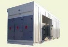 Unidades de transformación de energía eléctrica