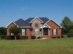 Casas de ladrillos residenciales