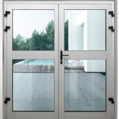 Puertas de perfil aluminio