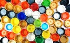 Tapas de plástico