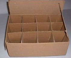 Compro Caja en cartón corrugado