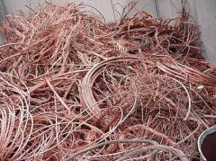 Desperdicios y desechos de cobre refinado