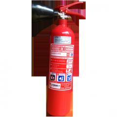 Extintor Dióxido de Carbono 2kg