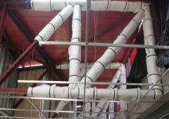 Aislación de vigas Sistema FireWrap