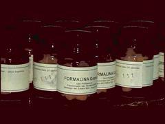 Fábrica de producción de formalina
