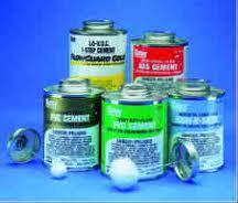 Adhesivos para tuberías y conexiones de PVC