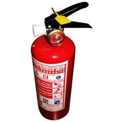 Extintor portátil 1 kilos PQS presión interna