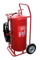 Carro extintor PQS 50 Kgs
