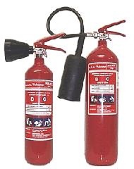 Extintores Anhídrido Carbónico