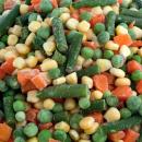 Vegetales, Arvejas, choclo, porotos verdes y