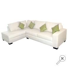 Sofa blanco LOMBARDIA