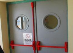 Puertas Metálicas Abatibles