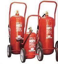 Extintores Carro de PQS 100 kg