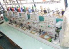 Bordadora Industrial de seis cabezales Fejima 960C