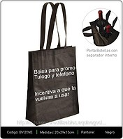Bolsas Eco Reutilizables para 2 botellas