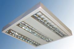 Luminaria Fluorescente De Alta Eficiencia Doble