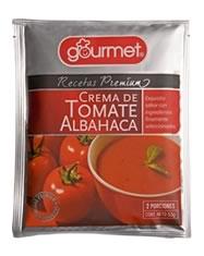 Crema de Tomate Albahaca