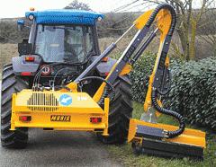 Máquina desmalezadora hidráulica para carretera