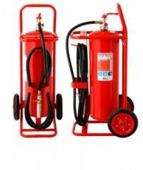Carro Extintor de Espuma Mecánica
