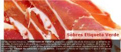 Jamón espanol, Sobres Etiqueta Verde