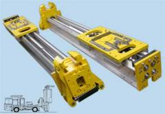 Machines and equipment for hydros-mines