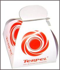 Sweets with logo