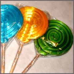 Paletas de caramelo