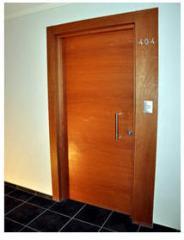 Interior fire-prevention doors