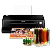 Kit impresora sistema continuo con tinta sublimacion